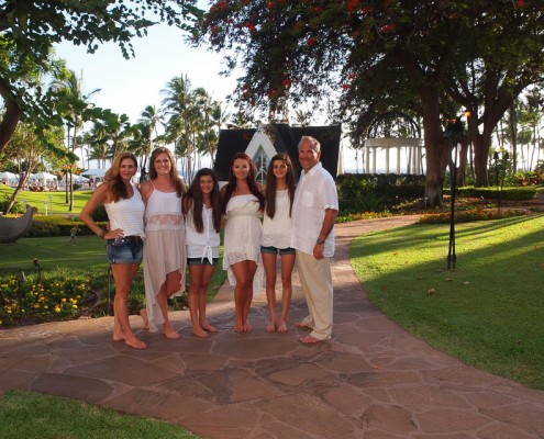 Grand Wailea Resort Family Photography