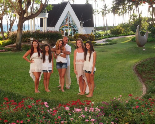 Grand Wailea Chapel and Family