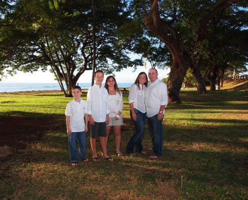 family photography at Launiupoko Beach Park, Maui, Hawaii