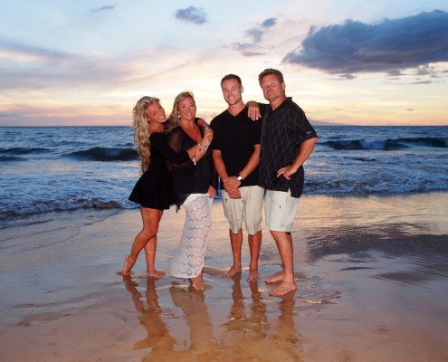 maui family portrait photography