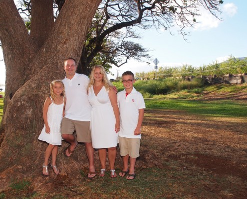Maui Family Photography at Launiupoko Beach Park, Hawaii