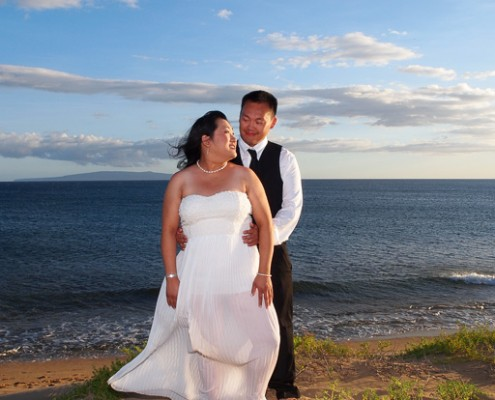 Portrait of Couple, Maui, Hawaii