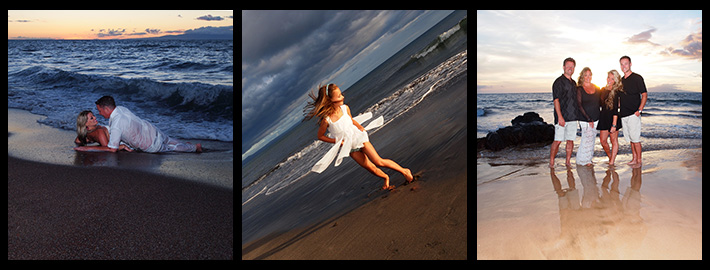 children, couples, families and special occasions or events photography by Maui Island Portraits