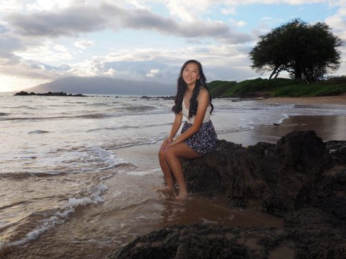 senior pictures and family portraits on Maui