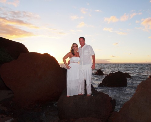 romantic couples photography on maui