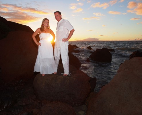 couples and romance on maui