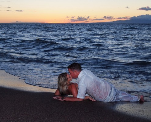 maui romantic photography