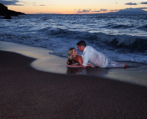 romantic photography on maui