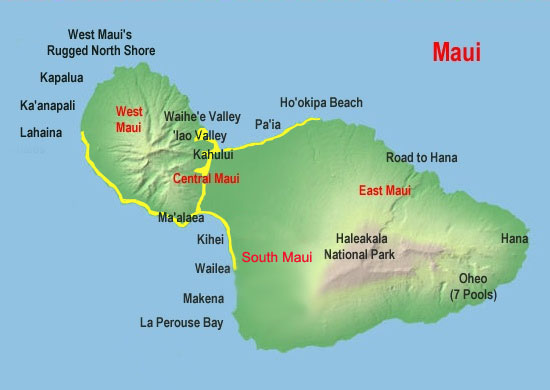 maui island portraits normal service area map