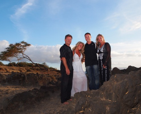 family portrait photography on maui