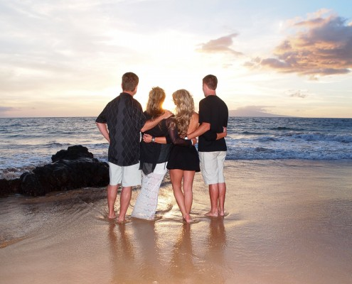 maui photographer for family portraits