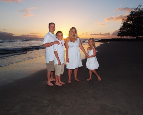 Vacation photography at Launiupoko Beach Park, Maui, Hawaii