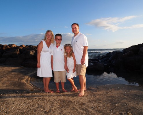 Family pictures at Launiupoko Beach Park, Maui, Hawaii