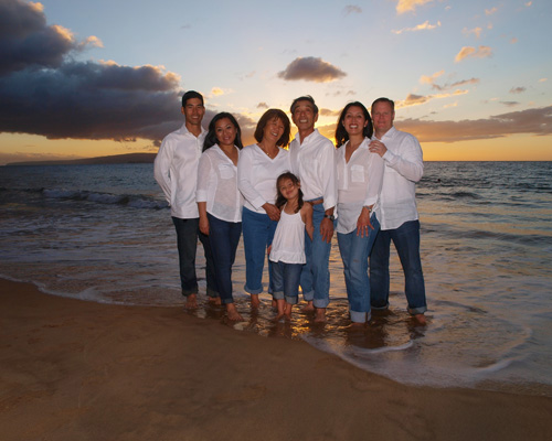 Maui Island Portraits family photography