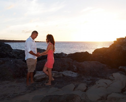 Engagement Photography at DT Fleming Beach Park
