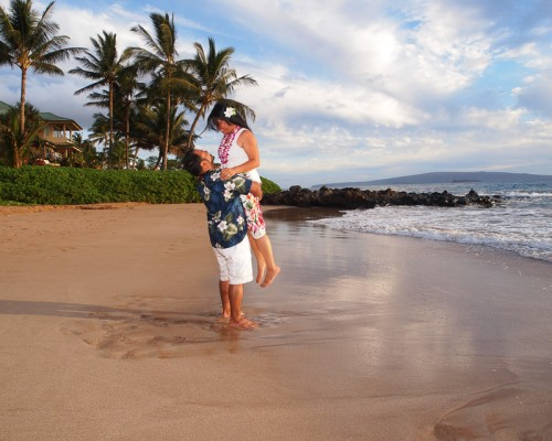 Maui Romance Photography at Polo Beach