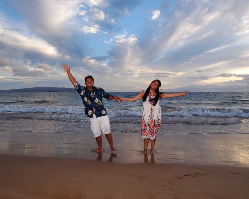 maui honeymoon - Aloha from Polo Beach