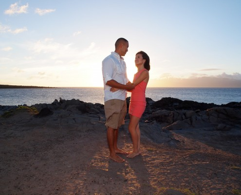 Proposal at the Ritz, Maui, Hawaii