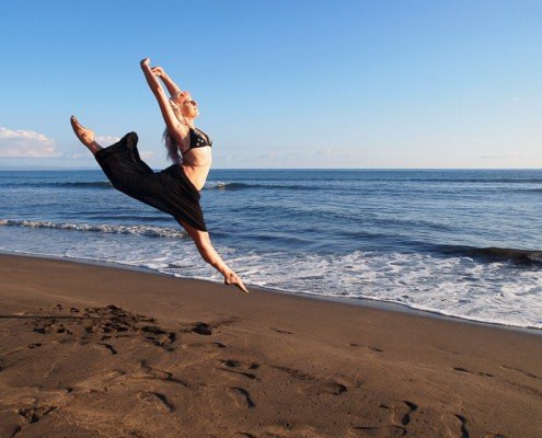 Jump Yoga Picture