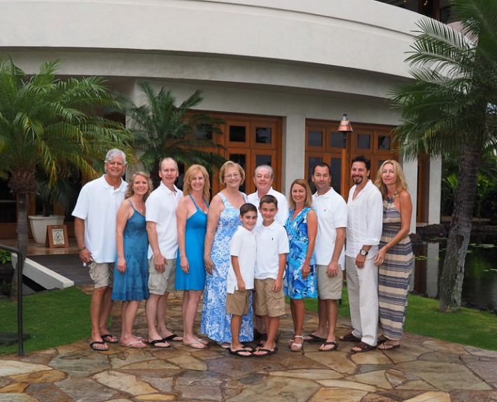 The Shaw Family at Sheraton Kaanapali