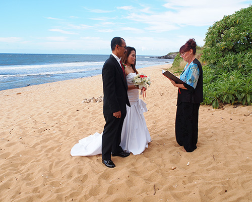 wedding photography on the north shore of Maui