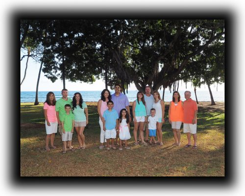 family portrait photography, Maui, Hawaii