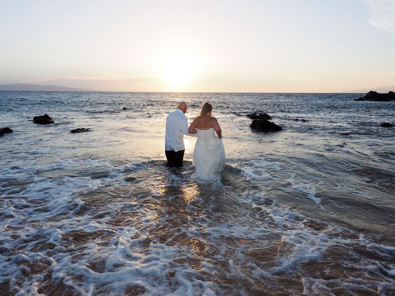 let's go trash the dress